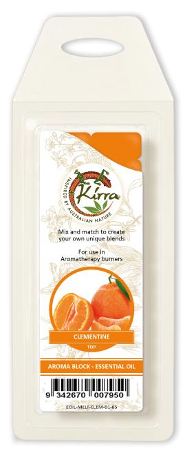 Aroma Block Essential Oil Clementine Kirra 65g