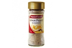 Seasoning Lemon Pepper by MasterFoods 52g