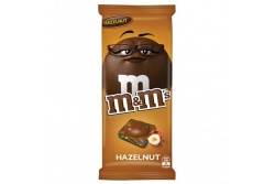M & M's Hazelnut Chocolate Block- MARS Chocolate- 155g