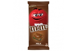 M & M's Milk Chocolate Block- MARS Chocolate- 160g