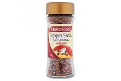 Seasoning Pepper Steak Medium by MasterFoods 35g