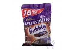 Bubbly Dairy Milk Chocolate Treats Size by Cadbury 180g