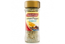Seasoning Lemon Pepper NO SALT by MasterFoods 50g