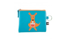Coin Purse Dressed Up Kangaroo by DQ & CO