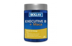 Executive B + Maca- Bioglan- 60 Tablets