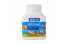 Kids Smart Omega-3 Fish Oil Trio- Bioglan- 60 Burstlets