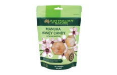 Manuka Honey Candy 12+- MGO400 with Eucalyptus- Australian By Nature- 30 Candies/Pack