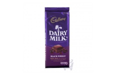 Dairy Milk Black Forest Block Chocolate  by Cadbury 220g