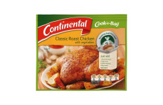 Cook-In-Bag Classic Roast Chicken With Vegetables- Continental- 50g