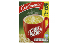 Cup A Soup Classic Chicken Noodle - Continental- 40g/ 4 Pack