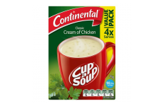 Cup A Soup Classic Cream of Chicken - Continental- 75g/ 4 Pack