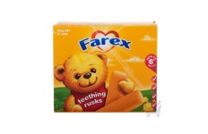 Teething Rusks by Farex 12 pack, 100g