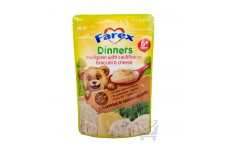 Multigrain Dinner With Broccoli, Cauliflower And Cheese  by Farex, 110g