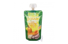 Organic Beef, Pumpkin & Spinach/Rice Baby Food 4 Mths Plus by Heinz 120g