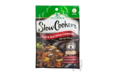 Slow Cookers Recipe Base Beef & Red Wine Casserole by McCormick 40 g