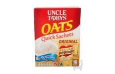 Uncle Tobys Oats Quick Sachets Original by Uncle Tobys, 340g