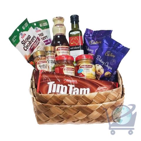 Christmas Gourmet Gift Basket - Medium | Shop Australia