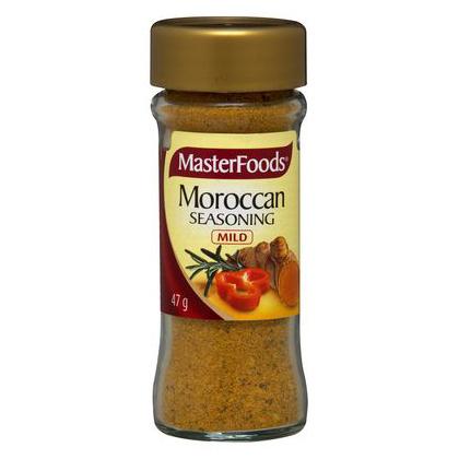 Moroccan Seasoning Masterfoods 47g Shop Australia
