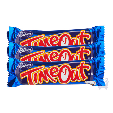 Timeout Chocolate Cadbury 40g Shop Australia