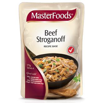 Beef Stroganoff Recipe Base Masterfoods 175g Shop