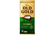Old Gold Dark Pepperment Chocolate Block  by Cadbury 180g