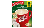 Cup A Soup Classic Cream of Mushroom- Continental- 70g/ 4 Pack