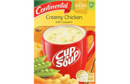 Cup A Soup Creamy Chicken With Croutons- Continental- 60g/ 2 Serves