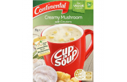 Cup A Soup Creamy Mushroom With Croutons- Continental- 50g/ 2 Serves