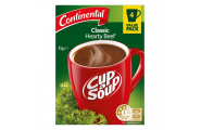 Cup A Soup Classic Hearty Beef- Continental- 55g/ 4 Pack