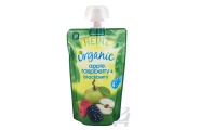 Organic Apple, Rasberry & Blackberry Baby Food 4 Mths Plus by Heinz 120g