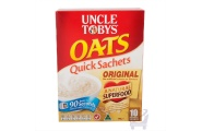Uncle Tobys Oats Quick Sachets Original by Uncle Tobys, 340g
