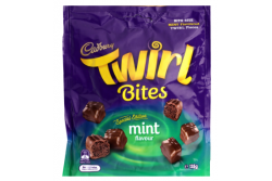Cadbury Twirl Mint Bites 135g