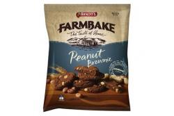 Farmbake Cookies Peanut Brownie by Arnott's 350g