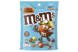 M&M's Crunchy Caramel Chocolate Pouch 130g