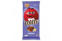 M & M's Cookie Chocolate Block- MARS Chocolate- 150g