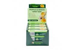 Propolis Soap With Manuka Honey 8+- MGO200- Australian By Nature- 100g