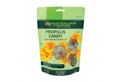 Propolis Candy With Manuka Honey 12+- MGO400- Australian By Nature- 60 Candies/Pack