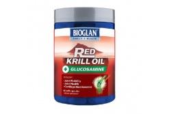 Red Krill Oil + Glucosamine- Bioglan- 60 Capsules