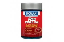 Red Krill Oil 500mg- Bioglan- 30 Capsules
