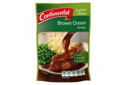 Instant Gravy Mix Brown Onion- Continental- 25g Sachet