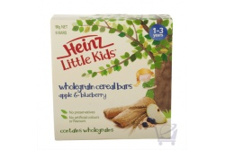 Wholegrain Cereal Bars, Apple & Bluberry by Heinz 90 g