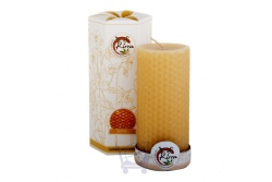 Beeswax Pillar Candle- Kirra- 440g