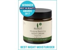 Moisture Restoring Night Cream- Sukin- 120ml Award Winner!