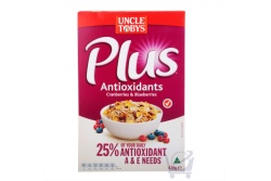 Uncle Tobys Plus Antioxidant Cereal by Uncle Tobys 435g