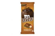 M & M's Hazelnut Chocolate Block- MARS Chocolate- 155g