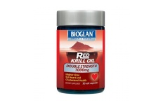 Red Krill Oil Double Strength 1000mg- Bioglan- 30 Capsules