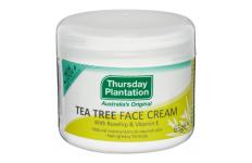 Tea Tree Face Cream with Rosehip & Vitamin E 65g