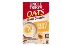 Uncle Tobys Quick Oats Creamy Honey – Uncle Tobys, 350g