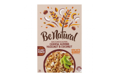 Coco-Nutty Granola Cereal (Cashew, Almond, Hazelnut & Coconut)- Be Natural- 415g