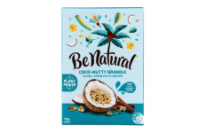 Coco-Nutty Granola Cereal (Coconut, Almond, Spelt & Cinnamon)- Be Natural- 450g